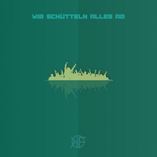 """Cover für den Song """"Wir schütteln alles ab"""" der Band Kunstfehler"""
